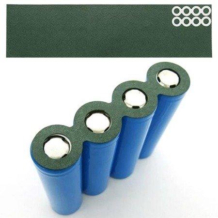 Podkładka izolująca z otworem - na 32 akumulatory 18650