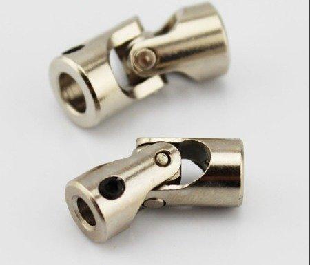 Przegub kardana 23x9mm - na oś 4/4mm - do budowy robotów, projektów DIY
