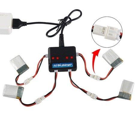 Przejście adapter - wtyk JST PH 2.0 2pin na Molex 51005 - przewód 40mm