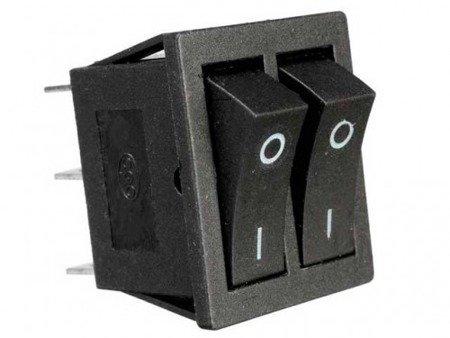 Przełącznik kołyskowy KCD3  - przełącznik ON/OFF - 220V - 6 PIN
