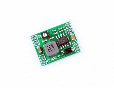 Przetwornica MP1584EN - max 3A - 4-28V na 0,8-20V - micro 2 gramy - Step-Down - do FPV