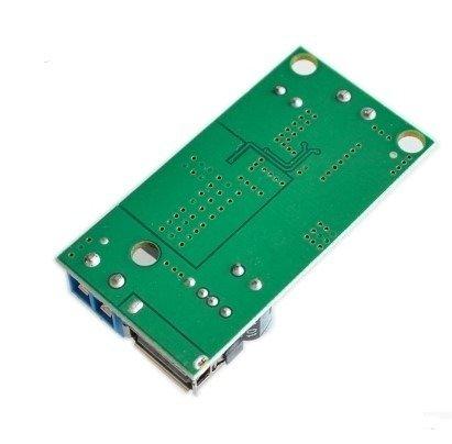 Przetwornica Step-Down - 9-38V - na 5V - USB - 5A - duża wydajność