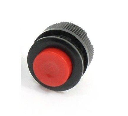 Przycisk chwilowy PBS-500 - 250V 1A - przełącznik monostabilny - okrągły