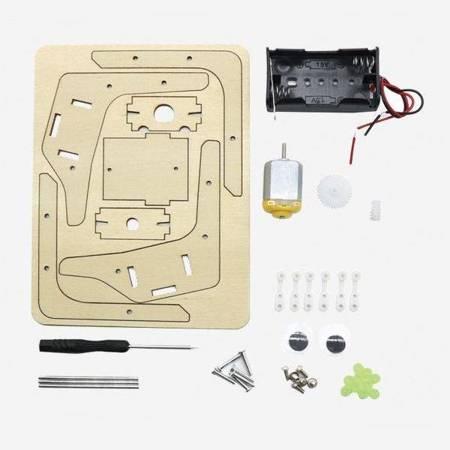 Robot ośmionogi - pająk bioniczny - DIY - Drewniana Zabawka edukacyjna