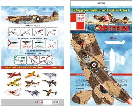 Samolot rzutek - Mig 21- 282 mm - model dla dzieci