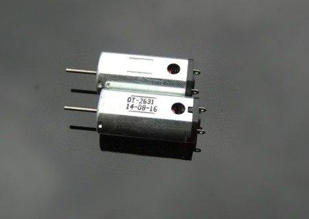 Silnik szczotkowy N50 - 27500 RPM - 1V-5V - 26mm