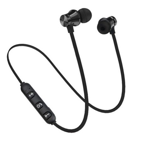 Słuchawki magnetyczne bezprzewodowe - XT11 - bluetooth - zasięg 10 m