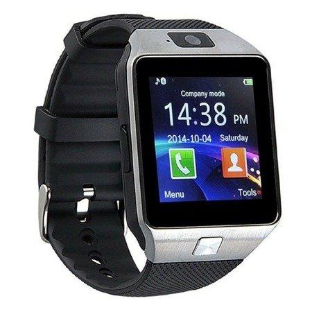 SmartWatch DZ-09 - Slot kart SIM - Zegarek Wbudowana kamera - MicroSD do 32GB - różne kolory