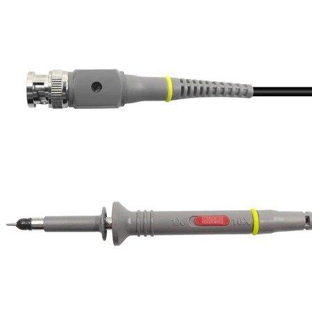 Sonda oscyloskopowa z przewodami 2x - BNC P6100 - 100MHz - do oscyloskopu - 2szt.