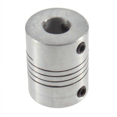 Sprzęgło elastyczne 5/8 mm - sprzęgło aluminiowe do drukarki 3D