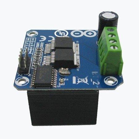 Sterownik silnika DC z radiatorem - 43A - BTS7960 - dla Arduino