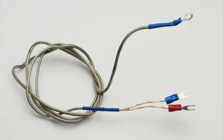 Termopara typu K 0-800°C o długości 1m montowana na śrubę
