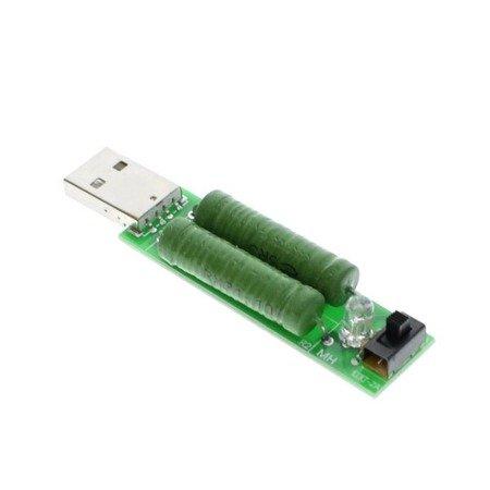 Tester USB - Obciążenie rezystancje portu USB 1A/2A