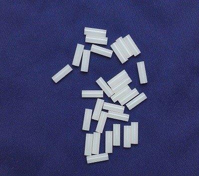 Tuleja Dystans 10mm - 10 szt - otwór 3,5mm bez gwintu - Słupek, Kolumna Poliamidowa