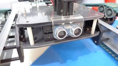 Uchwyt czujnika HC-SR04 - mocowanie czujnika SR04