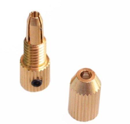 Uchwyt do Mini Wiertarki na wiertła od 0,7mm do 1,5mm - głowica wiertła na oś 2,3mm