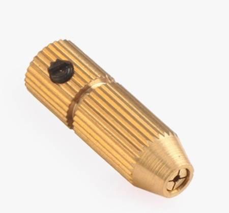 Uchwyt do Mini Wiertarki na wiertła od 1.5mm do 2.5mm - głowica wiertła na oś 3.17mm
