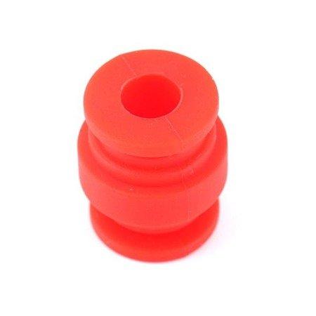 Wibroizolator 21mm/17mm - 300g obciążenie - red - tłumik drgań, damper, amortyzator - 1 szt