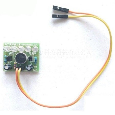 Wskaźnik LED sterowany dźwiękiem - DIY - analizator widma audio