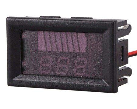 Wskaźnik naładowania 8V - 80V - Woltomierz DSN VQ128