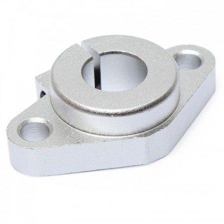 Wspornik końcowy wałka liniowego CNC - SHF12 - 12mm