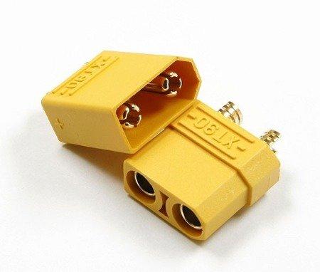 Wtyki XT90 - Konektor wtyk i gniazdo wysoko-prądowe 90A