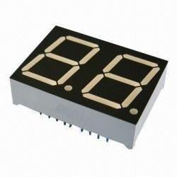 Wyświetlacz LED 7-seg. 2 cyfry - czerwony, wspólna anoda 0.56 cala