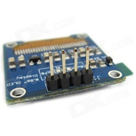 Wyświetlacz OLED 0,96' 128x64 na I2C - SSD1306 - niebieski