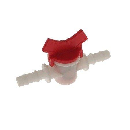 Zawór wciskany 8 mm - dwukierunkowy z regulacją przepływu - linia nawadniająca