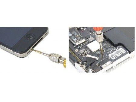 Zestaw mini TORX 5w1 - wkrętak serwisowy do telefonów komórkowych
