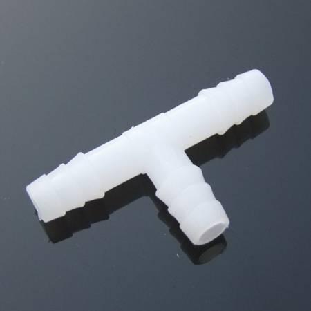 Złącze do węża - trójnik typu T - 6x6x6mm - Łącznik wciskany - Złączka
